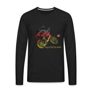 Radball | Deutschland - Männer Premium Langarmshirt