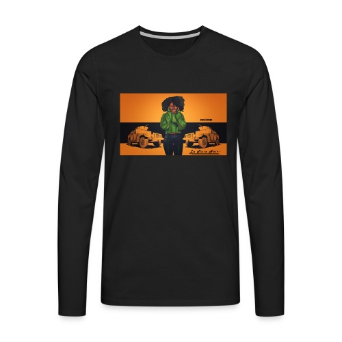 PrettyGeek - T-shirt manches longues Premium Homme