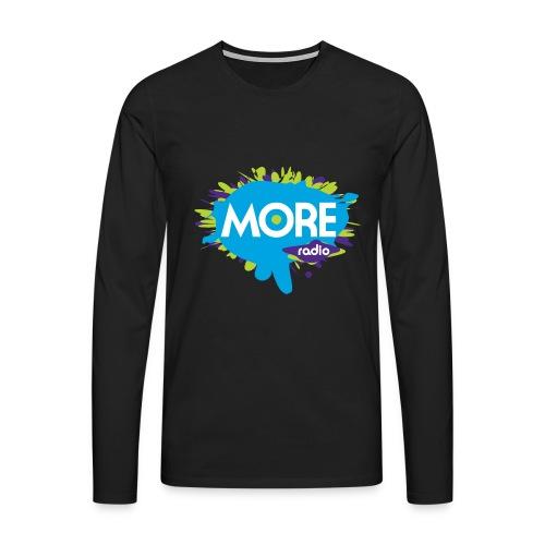 More Radio 2017 - Mannen Premium shirt met lange mouwen