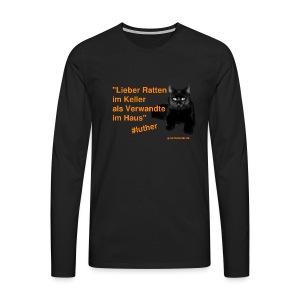 Luther-Zitat - Männer Premium Langarmshirt