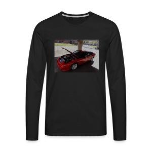s13 - Miesten premium pitkähihainen t-paita