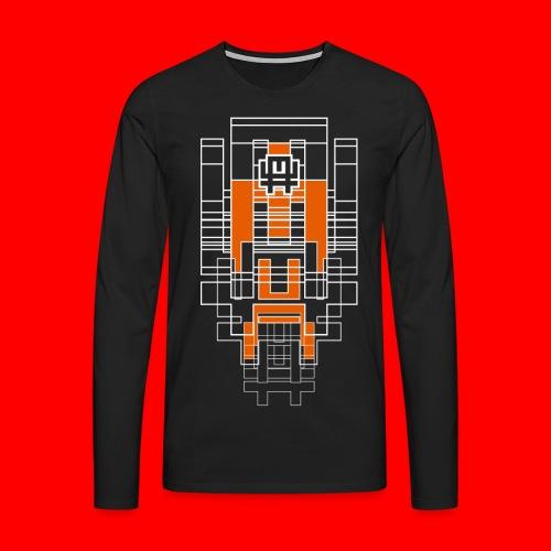 FUTURA - Maglietta Premium a manica lunga da uomo