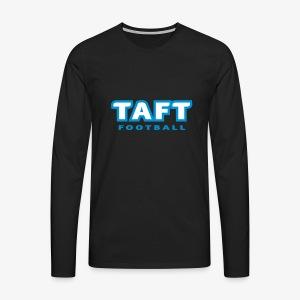 4769739 124019410 TAFT Football orig - Miesten premium pitkähihainen t-paita