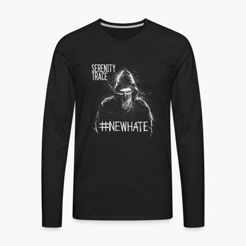 #NewHate Male - Premium langermet T-skjorte for menn