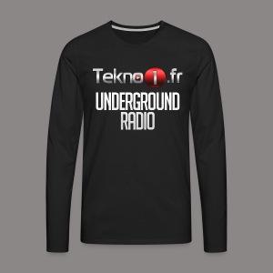 logo tekno1 2000x2000 - T-shirt manches longues Premium Homme