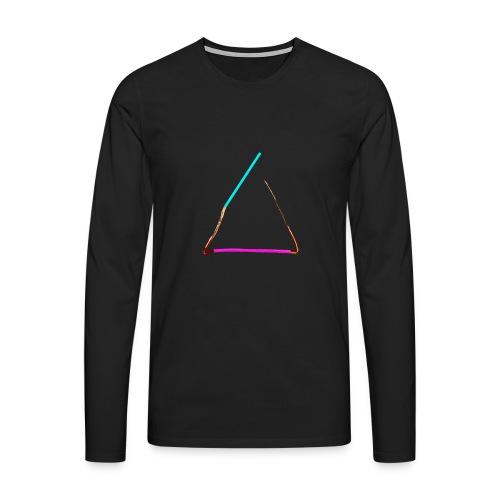 3eck - Dreieck - triangle - Männer Premium Langarmshirt