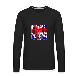 Free Speech UK Alt.1 - Men's Premium Longsleeve Shirt