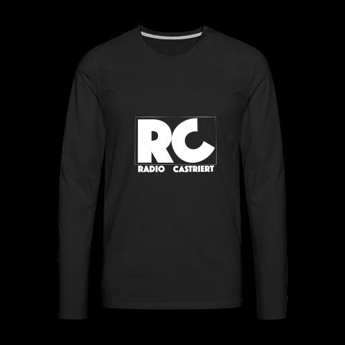 Radio CASTriert Logo 2017/2018 - Männer Premium Langarmshirt