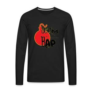 Boom Bap - Men's Premium Longsleeve Shirt