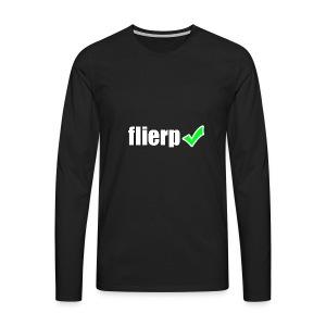Flierp Vink - Mannen Premium shirt met lange mouwen