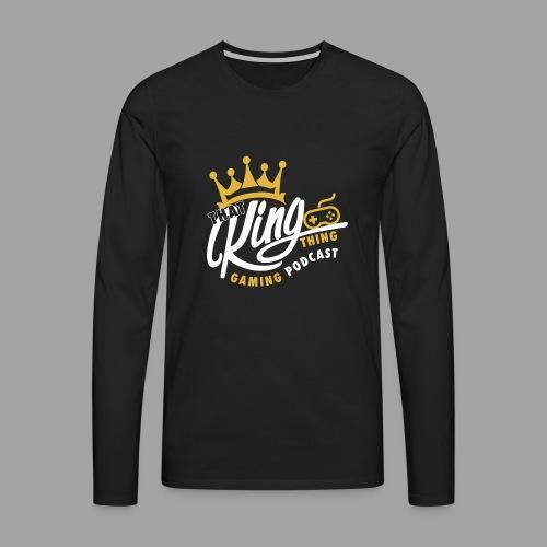 That King Thing Logo - Men's Premium Longsleeve Shirt