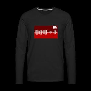 Amplitude Edition - Männer Premium Langarmshirt