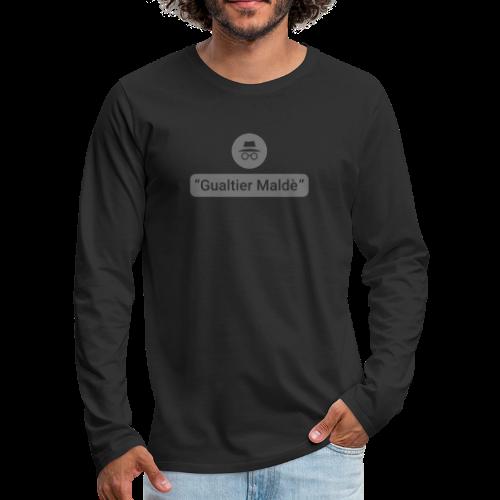 Rigoletto: Duca - Incognito (riempimento) - Maglietta Premium a manica lunga da uomo