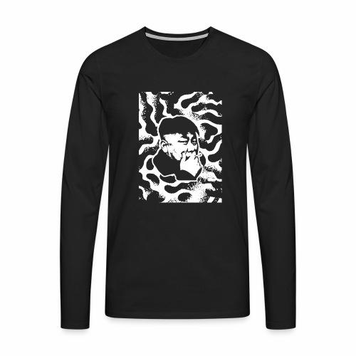 Kim - Mannen Premium shirt met lange mouwen