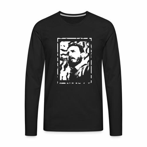 Fidel - Mannen Premium shirt met lange mouwen