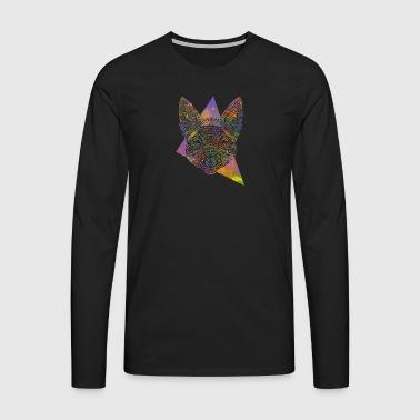 Kelpie Maori - T-shirt manches longues Premium Homme