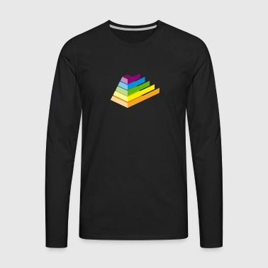 pyramid - Men's Premium Longsleeve Shirt