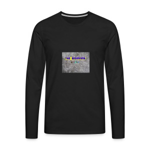 The Beginning - Men's Premium Longsleeve Shirt