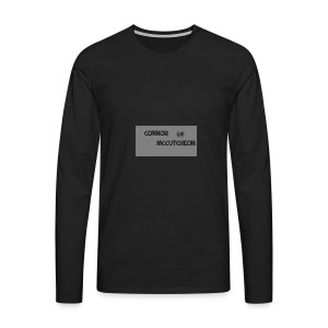 Connor McCutcheon Logo - Men's Premium Longsleeve Shirt