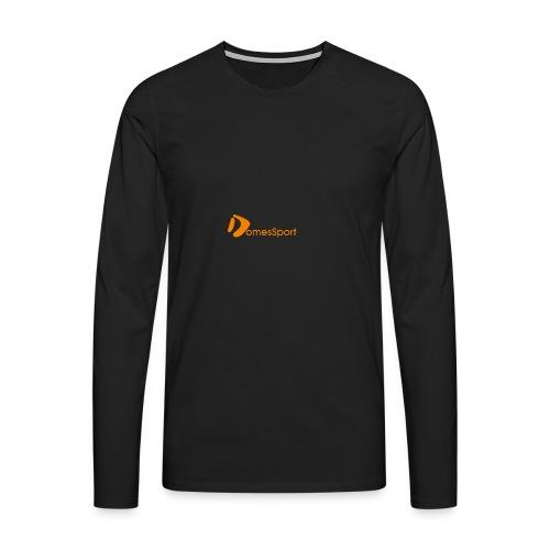 Logo DomesSport Orange noBg - Männer Premium Langarmshirt