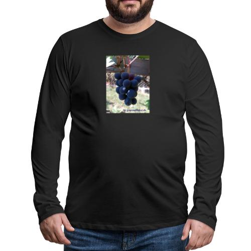 Traube - Männer Premium Langarmshirt
