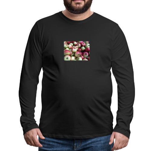 Äpfel - Männer Premium Langarmshirt