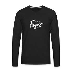 Radio Fugue Blanc - T-shirt manches longues Premium Homme