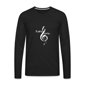 treble_maker-white - Men's Premium Longsleeve Shirt