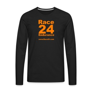 Race24 Large Logo - Men's Premium Longsleeve Shirt