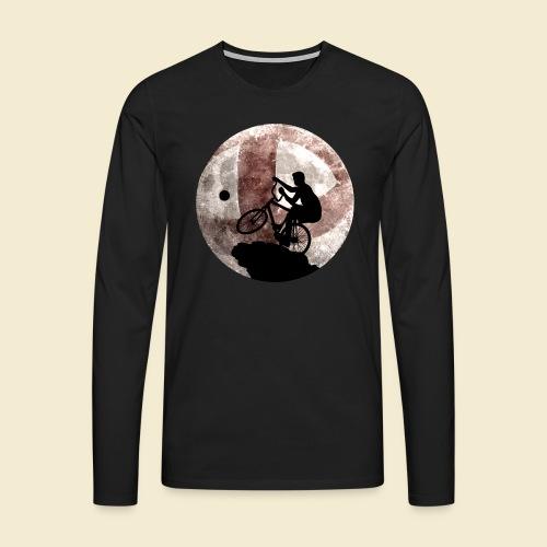 Radball | Cycle Ball Moon - Männer Premium Langarmshirt