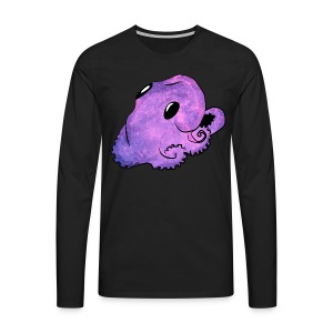 Kawaii octopus - Men's Premium Longsleeve Shirt