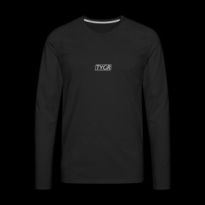TYGR Box Design - Men's Premium Longsleeve Shirt