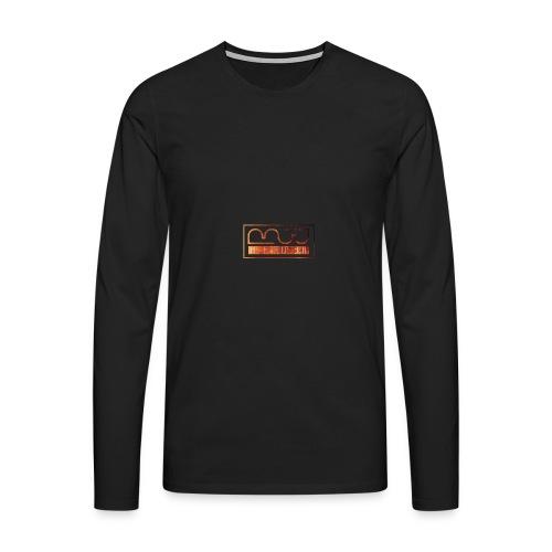 Cap logo Orange - Men's Premium Longsleeve Shirt