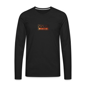 Cap logo Orange - Men's Premium Longsleeve Shirt