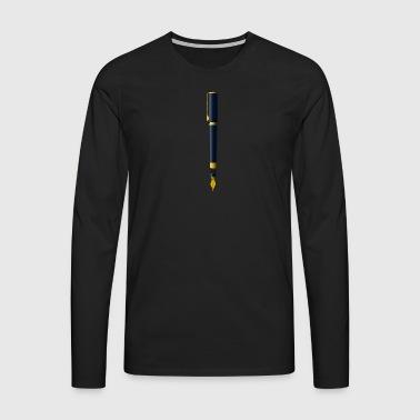 fontaine - T-shirt manches longues Premium Homme