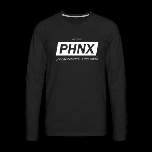 PHNX /#white/ - Männer Premium Langarmshirt