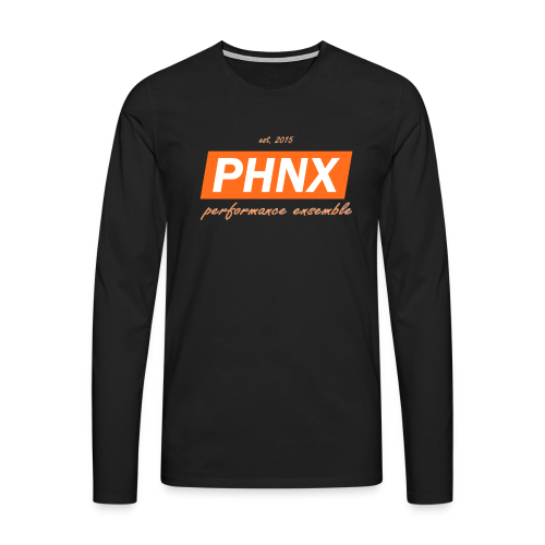 PHNX /#orange/ - Männer Premium Langarmshirt