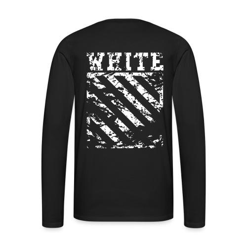 Off-White Streetwear - Herre premium T-shirt med lange ærmer