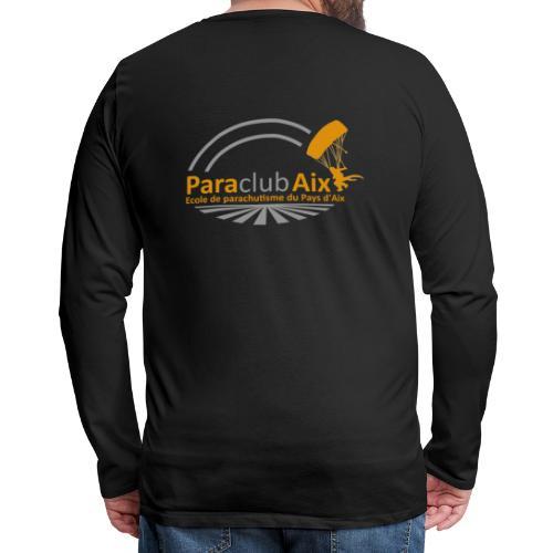 Paraclubaix black - T-shirt manches longues Premium Homme