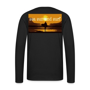 sea sun and surf - T-shirt manches longues Premium Homme