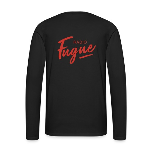 Radio Fugue Red - T-shirt manches longues Premium Homme