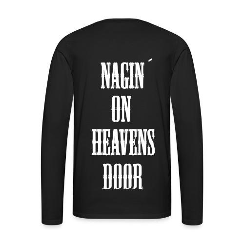 heavens nag - Männer Premium Langarmshirt