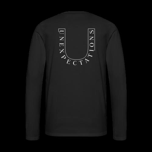 UNEX LOGO - Männer Premium Langarmshirt