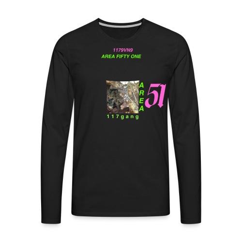 Area51 - Männer Premium Langarmshirt