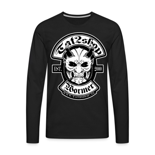 Tat2shop Logo - Mannen Premium shirt met lange mouwen
