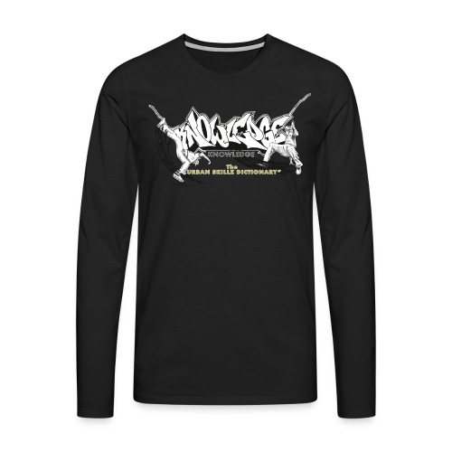 Knowledge - Männer Premium Langarmshirt