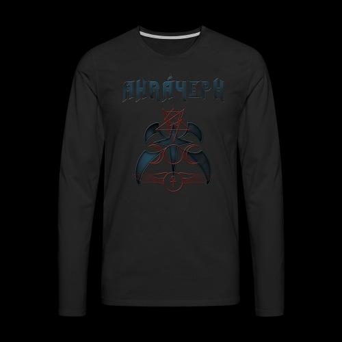 anima cd label shirt png - Men's Premium Longsleeve Shirt