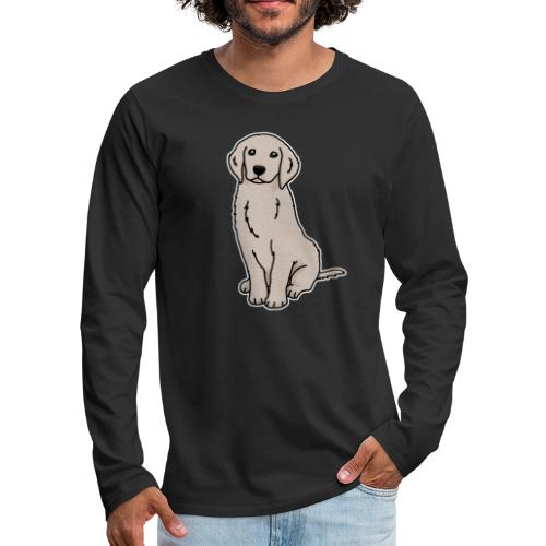 Golden Retriever, Hund, Hunderasse, Geschenk, Tier - Männer Premium Langarmshirt