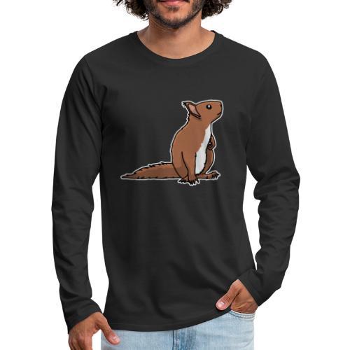 Eichhörnchen, Nagetier, Tier, süß, Geschenkidee - Männer Premium Langarmshirt