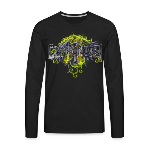 consinitylogo fixedtransparent png - Men's Premium Longsleeve Shirt